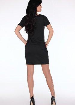 Ежедневна къса рокля в сиво CG697