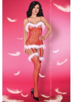 Секси коледно боди Catriona Christmas