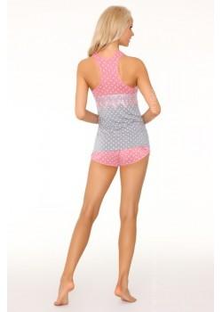 Дамска пижама от две части в розово Mtendera