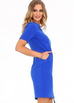 Ежедневна рокля Minar в син цвят
