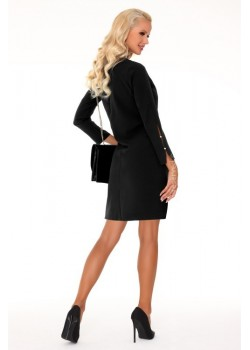 Елегантна мини рокля в черно Mehvesa