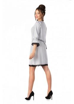 Ежедневна рокля Shanice в сив цвят