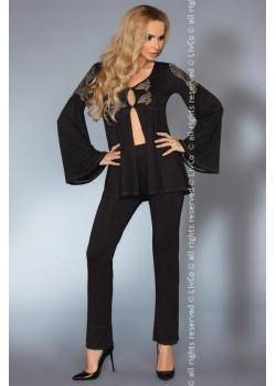 Секси пижама в черен цвят Aruna