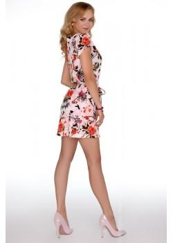 Елегантна мини рокля с къс ръкав Meletri