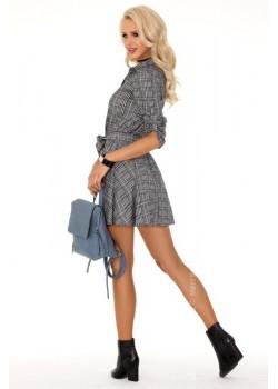 Ежедневна мини рокля с яка Merchea