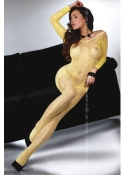 Целокупно боди в жълт цвят Abra
