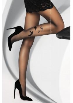 Чорапогащник в черен цвят Orsita 20 DEN