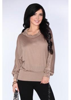 Дамска блуза с прилеп ръкав CG028