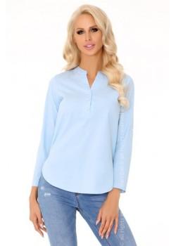 Дамска блуза в син цвят Katelijn