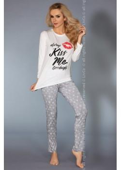 Дамска пижама с принт MODEL 109