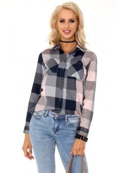 Дамска риза с дълъг ръкав Agnetta