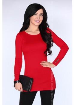 Дамска туника в червен цвят CG029