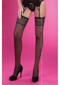 Дамски дълги чорапи в черно Revati