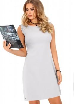 Елегантна рокля Kerrien в сив цвят