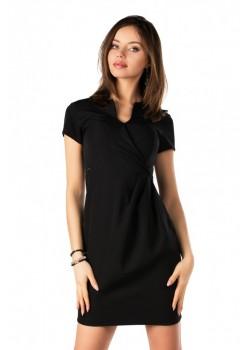 Елегантна рокля Matiria в черен цвят