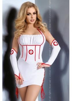 Еротичен костюм на медицинска сестра Raisa
