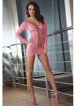 Еротична розова рокля Cantara