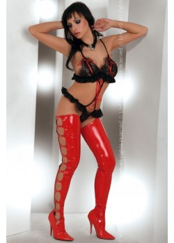 Еротично изрязано боди в черно Tinashe