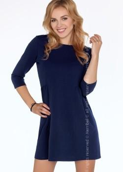 Ежедневна миди рокля в синьо Funanya