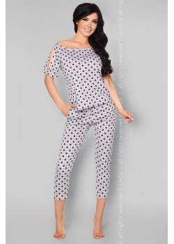 Памучна пижама на звездички Anahila