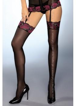 Секси 7/8 чорапи в черен цвят Matias