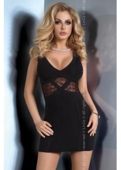 Секси черна рокля Pascale
