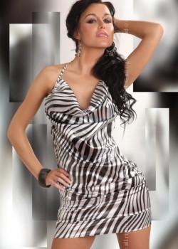 Секси къса рокля Eliora