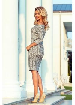 Ежедневна миди рокля 13-88