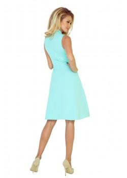 Елегантна миди рокля с яка 133-5
