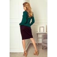 Блуза в зелен цвят 140-9