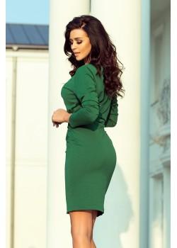 Ежедневна къса рокля в зелено 209-2