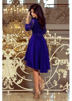 Елегантна асиметрична миди рокля 210-4