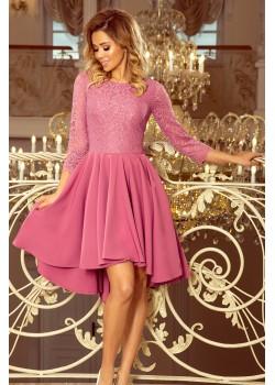 Официална асиметрична рокля 231-2