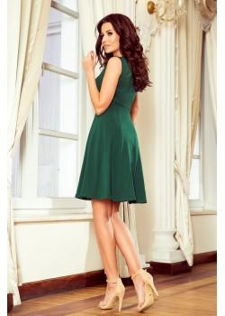 Ежедневна зелена рокля 238-2