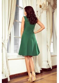 Ежедневна зелена рокля 239-1
