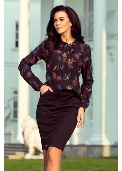 Черна дамска блуза 140-10