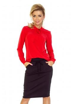 Червена дамска блуза 140-3