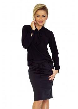 Елегантна блуза в черен цвят 140-5