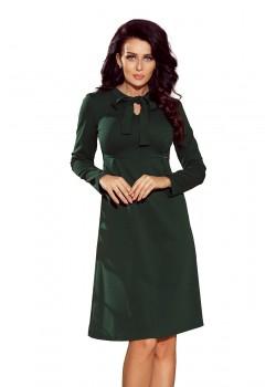 Елегантна миди рокля с дълъг ръкав 158-3