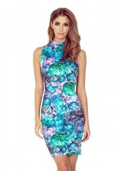 Елегантна миди рокля тип поло MM-002-2