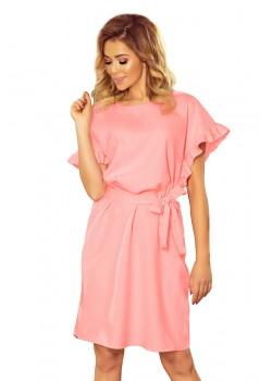 Ежедневна рокля в пастелно розово 229-1