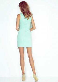 Асиметрична мини рокля MM-004-3