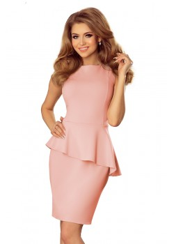 Розова мини рокля 178-4