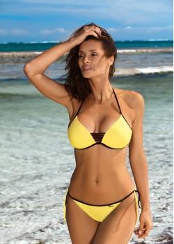 Бански костюм от две части в жълт цвят Janette M-547-2