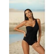 Черен цял бански костюм Gabrielle M-543-6