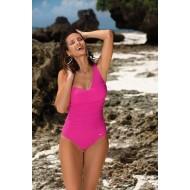 Цял бански костюм Gabrielle M-543-2 в цвят роза