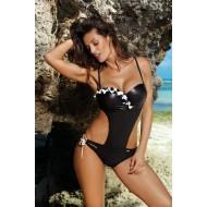 Цял бански костюм в черно Evelyn M-530-4