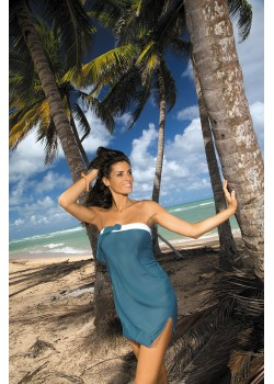 Плажна туника в синьо Mia M-241-313