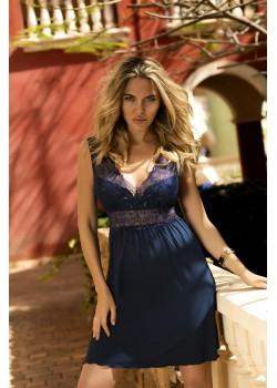 Секси нощница в тъмносин цвят Belinda