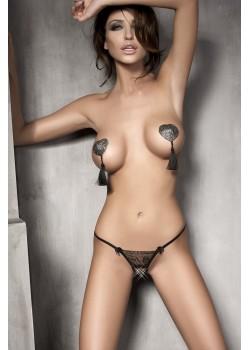 Секси прашки в черен цвят Evita